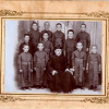 Monsignor Pantaleo Losapio nel 1914 – direttore del seminario di Bisceglie – foto storiche, album di famiglia