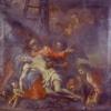 Due opere di Bartolomeo Letterini nella quadreria del Duomo nuovo di Monselice (San Giuseppe operaio) in provincia di Padova