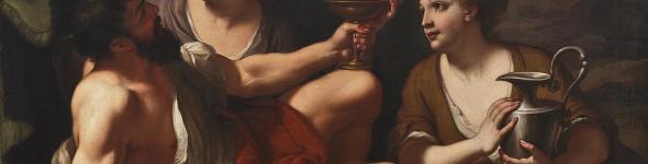 dipinto loth e le figlie di bartolomeo letterini o litterini bortolo