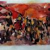cavalli al galoppo di Raffaella Losapio – anno 1999
