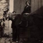 Anno 1927: Isabella Losapio cavalca ad amazzone