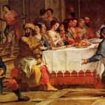 Le Nozze di Cana in Galilea (particolare sinistro)