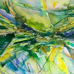 Evento verde, cm 70x100, Raffaella Losapio 2016