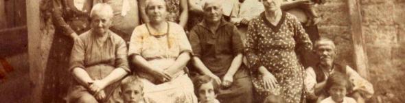 Azienda agricola Losapio a Bisceglie nel 1931- foto storiche, album di famiglia