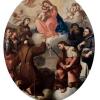 La Vergine Maria con il Bambino in gloria e sette Santi – Bartolomeo Letterini
