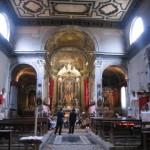 Interno della Chiesa di Ognissanti-Venezia