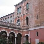 esterno della Chiesa di Ognissanti-Venezia